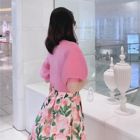 女王ニット【フェミニンピンク】