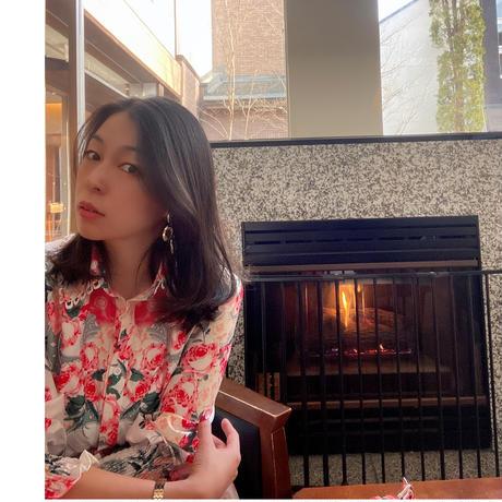 【72時間限定2000円OFF】ローズガーデンシャツドレス【ライブ紹介】