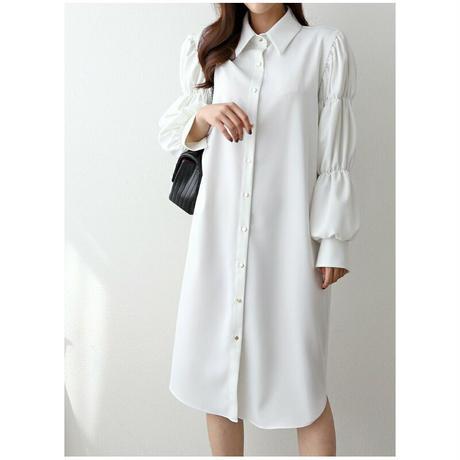 ラグジュアリーシャツドレス【ベルトセット】