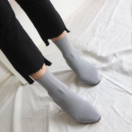 美脚ショートブーツ【高級感あり/3色展開】