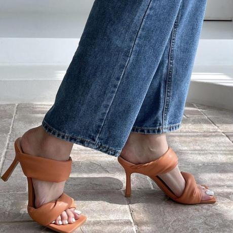 【6月23日まで10%OFF】マシュマロストラップサンダル【柔らかストラップで歩きやすい】