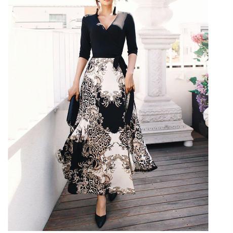 銀座エレガンスラップドレス