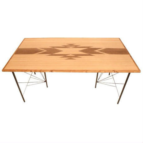 OAK ORTEGA DINING TABLE