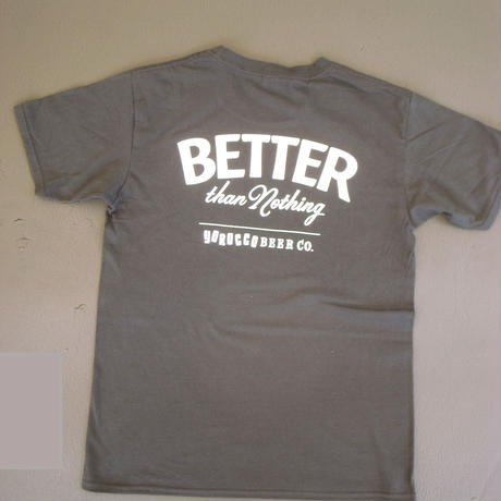 BETTER than Nothing Tシャツ Black X White