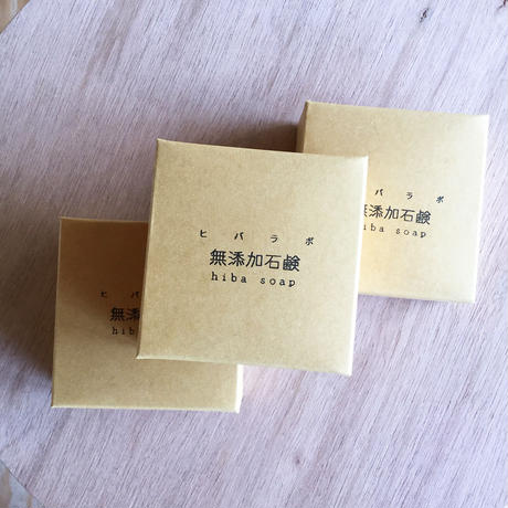 青森ヒバのエッセンシャルオイル配合 ヒバラボ無添加石鹸