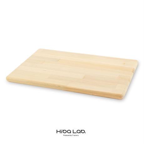 青森ヒバのまな板 (LR)30×45×2cm 寄木/外周R仕上げ