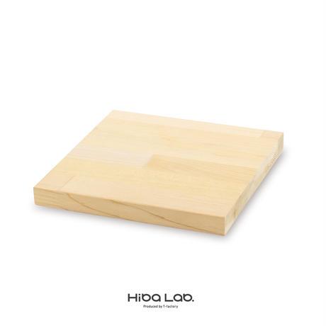 送料無料 5枚セット お皿がわりのトレー&鍋敷にも 20×20 寄せ木 カッティングボード