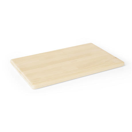 定番サイズで軽い 青森ヒバのまな板 MR)24.5×40×2cm 寄木/外周R仕上げ