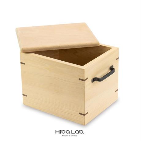 青森ひばの箱 虫カビを撃退 おいしさ保つ米びつ/5kg用 受注生産 ふるさと納税返礼品