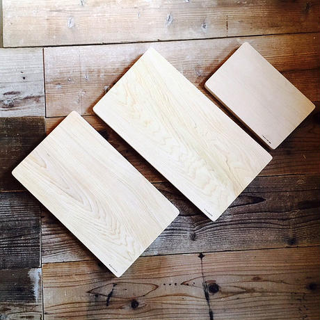 青森ヒバのまな板 (大)巾24.5〜27×長さ45×厚み3〜3.5cm 一枚板 ふるさと納税返礼品でもランクイン