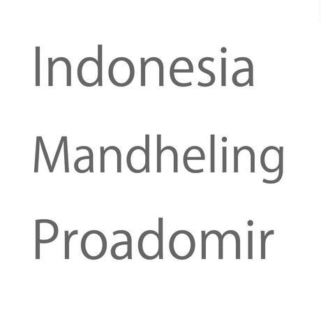 インドネシア マンデリン プロアドミール 100g