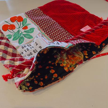 necktie kinchaku pochette (赤)