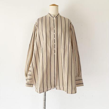 *レディース*Urvin-アーヴィン-ANTIQUE LIKE SHIRT アンティークライクシャツ/コットンストライプ(UK148302)