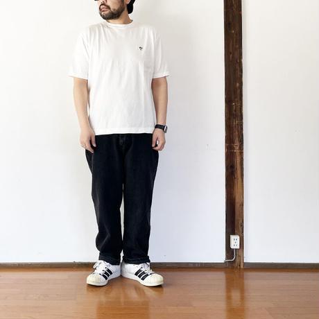 *ユニセックス*ARVOR MAREE-アルボマーレー- ロゴTシャツ/ホワイト