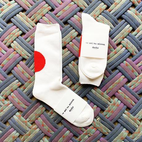 *goods*BRU NA BOINNE × decka quality socks Yell socks