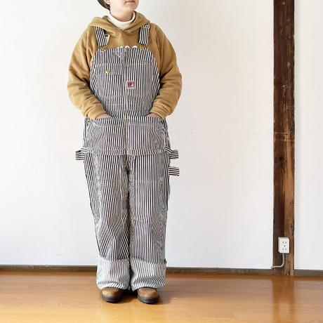 女性30インチ着用*ユニセックス*TCB jeans-ティーシービージーンズ-  TCB HANDYMAN PANTS HICKORY STRIPE