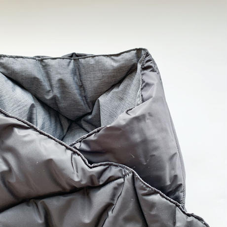 goods*The Loft Labo by NANGA-ザロフトラボ × ナンガ-WANG/キルティングダウンショートマフラー/ブラック