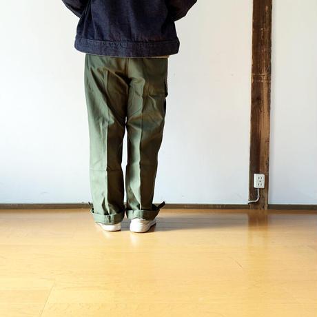 *ユニセックス女性着用画*MILITARY DEAD STOCK(軍物新品未使用品)-ベルギー軍 M-88 Field Pants (貫通ポケット箇所ポケット袋作成)