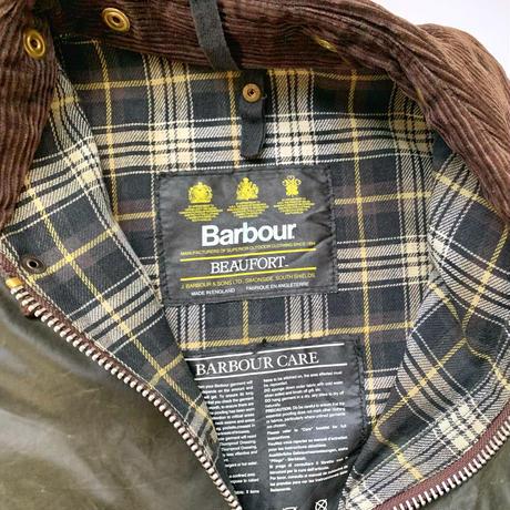 REMAKE BARBOUR リメイクバブアーリサイズ&リプルーフ オリーブ系F