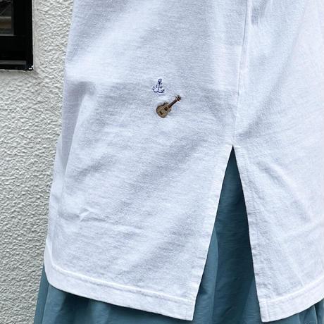 レディース*快晴堂-カイセイドウ- 海上がりTシャツロング Beach Glass