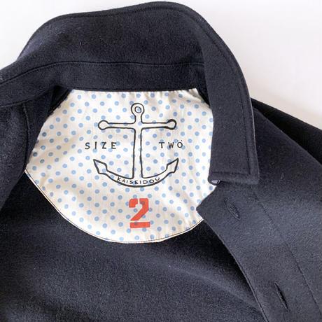 レディース*快晴堂-カイセイドウ-カットメルトンカバージャケット(03JK-60G) SIZE2/ネイビー