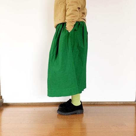 *レディース*TIGRE BROCANTE-ティグルブロカンテ-ジンバブエポケットフィセルスカート/グリーン