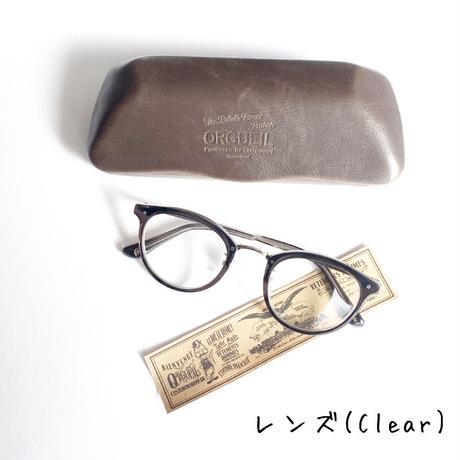 *goods*ORGUEIL★オルゲイユ★Boston Glasses ボストンタイプメガネ*レンズClearとL-Brown*(OR-7064B)