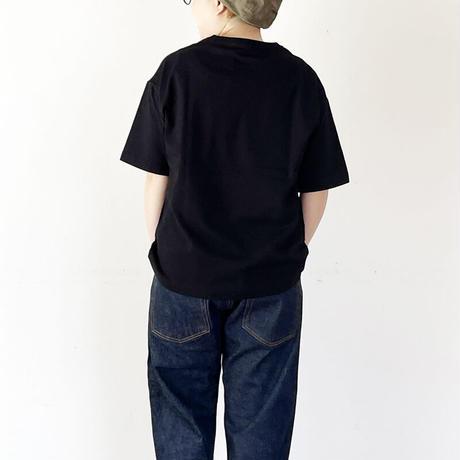 *ユニセックス*amne-アンヌ-H_s tee/ブラック