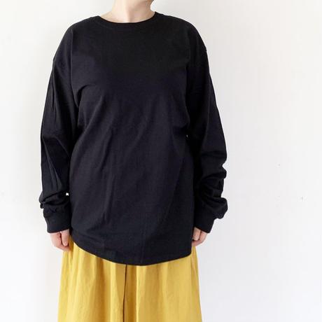 *ユニセックス*20/20 Twenty-Twenty[s]-Very Happy L/S T-shirts/ブラック