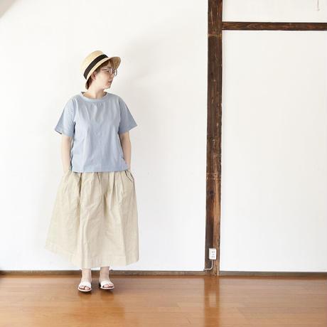 レディース*快晴堂-カイセイドウ-Girl'sサマーアウターT/くすんだサックス