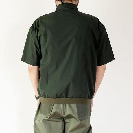 *ユニセックス*TIGRE BROCANTE-ティグルブロカンテ-Micro Cotton Venice Beach Rib Poloshirts/リブポロシャツ /グリーン