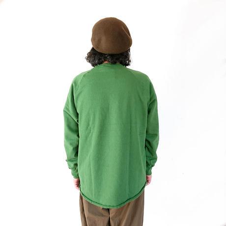 *ユニセックス*WALLA WALLA SPORT-ワラワラスポーツ-13oz CREW SWEAT SHIRT クルーネックスウェットシャツ/グリーン