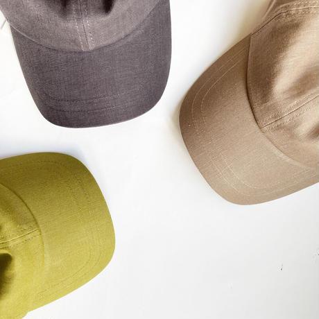 全3色*goods*LUEUF-ルーフ-コットンリネンキャップ