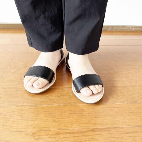 *レディース*FABRIQUE en planete terre-separate sandal セパレートサンダル /ブラック