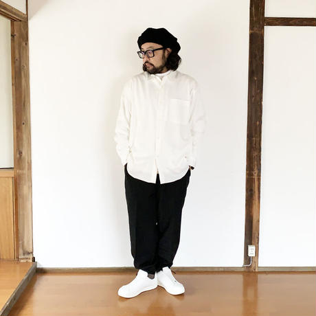 *ユニセックス*LA MOND.-ラモンド-N/C SHIBO TRACK PANTS(LM-P-074)/ブラック