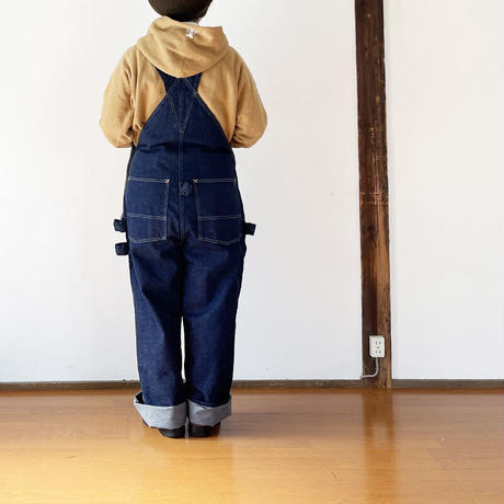 女性30インチ着用*ユニセックス*TCB jeans-ティーシービージーンズ-  TCB HANDYMAN PANTS DENIM