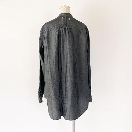 *レディース*Urvin-アーヴィン-ANTIQUE LIKE SHIRT アンティークライクシャツ/テンセルブルー