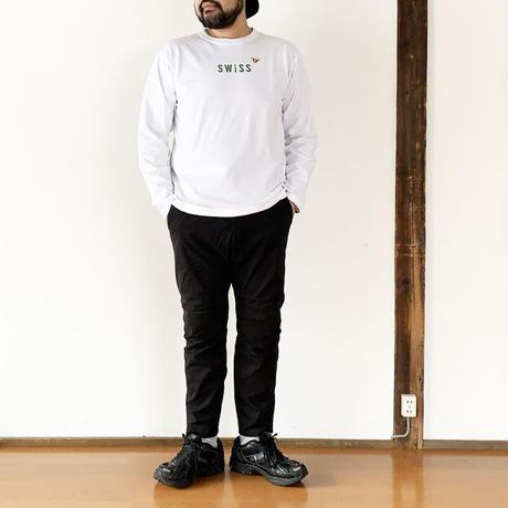 ユニセックス*快晴堂-カイセイドウ-ステートT UNI長袖Tシャツ(11C-106B) /SIZE5と6 スイス