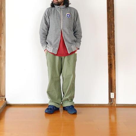 ユニセックス*MASTER&Co*マスターアンドコーLong Chino Pant with Belt オフィサーチノ(オリーブ)