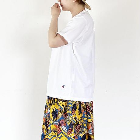 レディース*快晴堂-カイセイドウ-サイズ3+ リバイバル企画 スペースTシャツ アストロノーツ/ホワイト