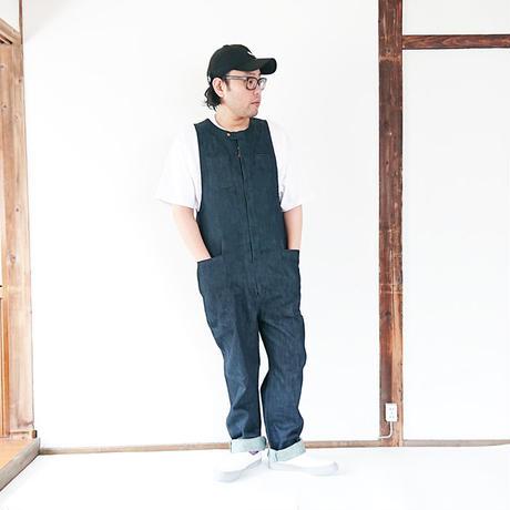 送料無料*ユニセックス*SUMAR WORKS-スマーワークス- TSUNAGUI -繋ぐ衣-/インディゴ