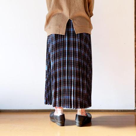 """*レディース*KELEN-ケレン-ウール混 チェック プリーツスカート アコーディオンスカート""""Ritz"""""""