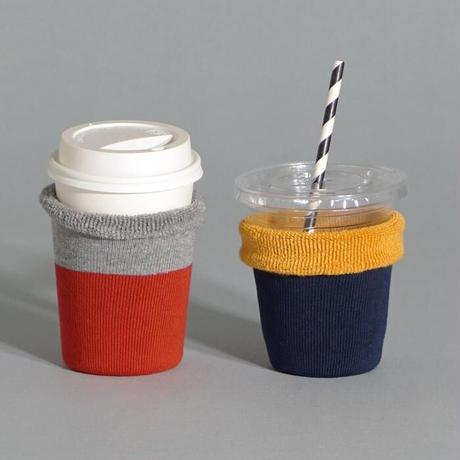 3個までレターパック送料¥370*goods*Hoffman-ホフマン-オーガニックコットン アイスコーヒーのくつした /  バイカラー
