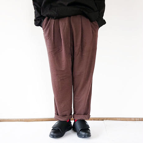 "Kelen-ケレン-Wide Tuck Trouser ""Shyall"" ワイドタックトラウザー"