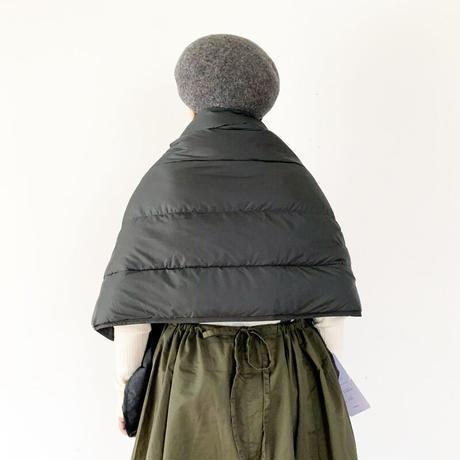 goods*The Loft Labo by NANGA-ザロフトラボ × ナンガ-KONG/QUILTING DOWN CAPE/チャコール