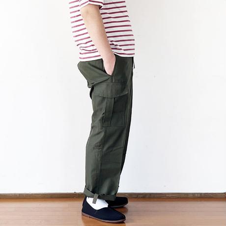 *ユニセックス*MILITARY DEAD STOCK(軍物新品未使用品)-ベルギー軍 M-88 Field Pants (貫通ポケット箇所ポケット袋作成)
