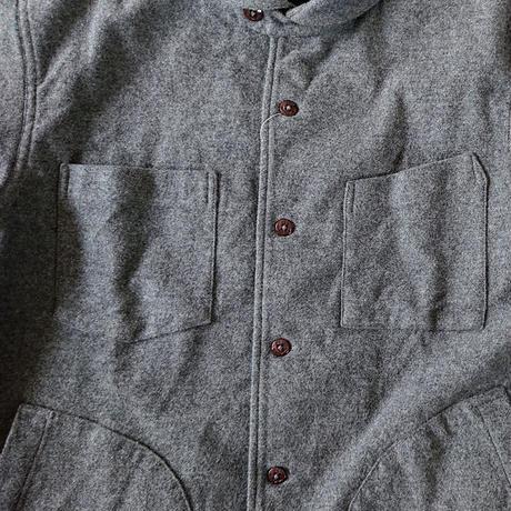 *ユニセックス*ARVOR MAREE-アルボマーレー- CPOシャツジャケット/BRUSHED MOLESKIN STRETCH