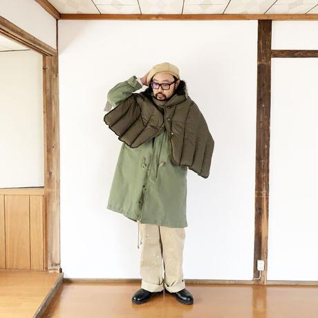 goods*The Loft Labo by NANGA-ザロフトラボ × ナンガ-KONG/QUILTING DOWN CAPE/オリーブ