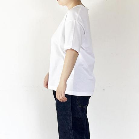 *ユニセックス*amne-アンヌ-H_s tee/ホワイト