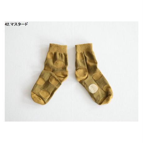 レターパックライトで発送¥370*goods*prit-プリット-ぽこぽこドットソックス(P01160)